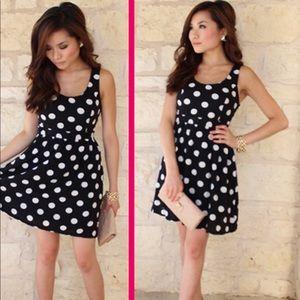 Forever 21 polka dot dress M